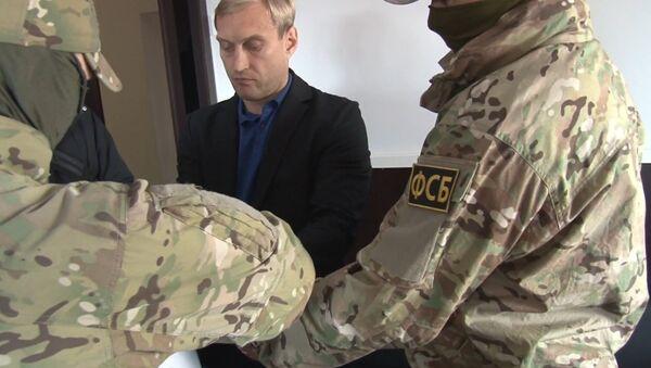 Оперативное видео ФСБ задержания мэра Евпатории