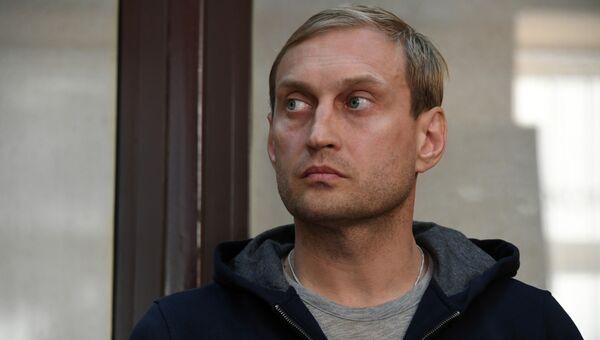 Андрей Филонов в зале суда в Симферополе