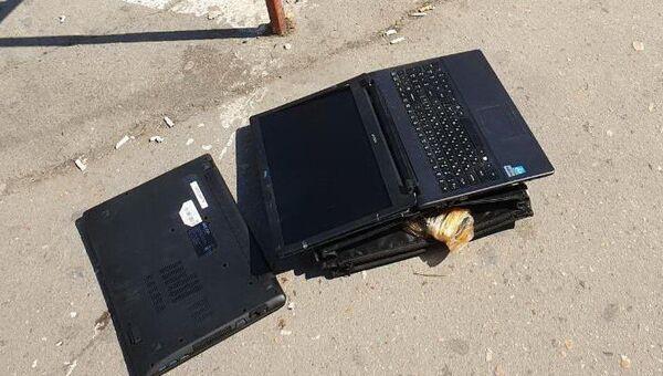 В Ялте вор вынес из госучреждения два ноутбука