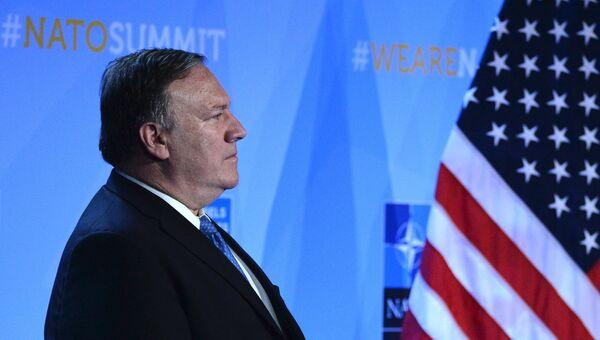 Государственный секретарь США Майк Помпео