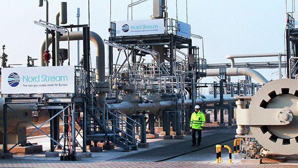 Газопровод Северный поток в городе Лубмин, Германия