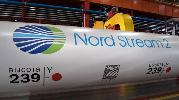 Трубы для газопровода Северный поток — 2