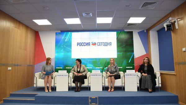Пресс-конференция, посвященная IV Международному крымскому женскому конгрессу Цветущий миндаль-2019
