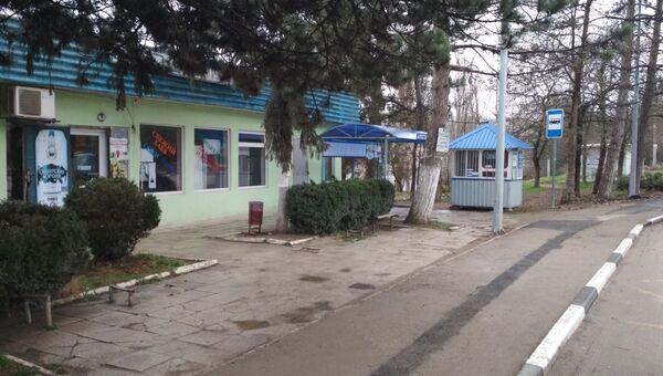 Здание, в котором должна была располагаться автостанция Грушевка