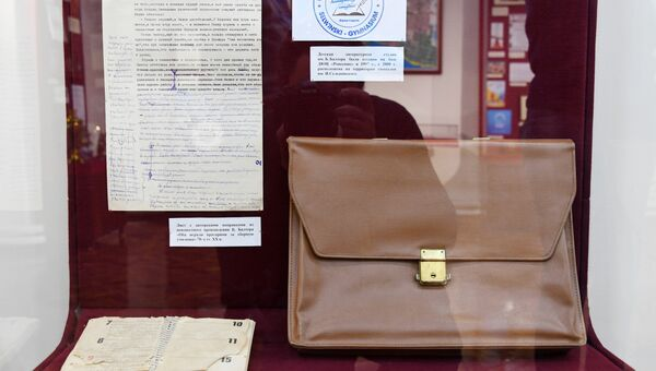 Выставка личных вещей Бориса Балтера в Евпаторийском краеведческом музее по случаю 100-летия со дня рождения писателя.