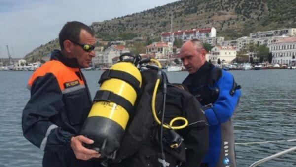 Операция по уничтожению авиабомбы, найденной в Балаклавской бухте