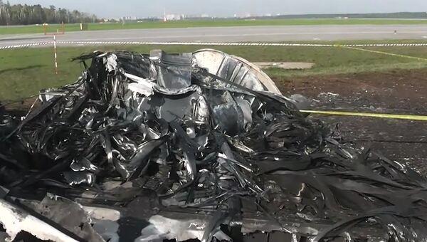 Глава СК РФ А. Бастрыкин посетил место происшествия в аэропорту Шереметьево