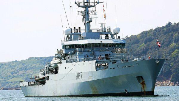 Многоцелевой гидрографический и океанографический корабль Королевского ВМФ Великобритании HMS Echo