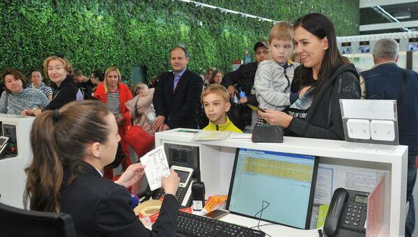 Встреча в аэропорту Симферополь миллионного с начала 2019 года пассажира