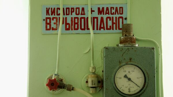 Состояние палаты интенсивной терапии инфекционного отделения детской больницы в Феодосии