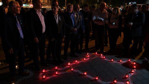 В Симферополе прошла традиционная акция Зажги огонь в своем сердце