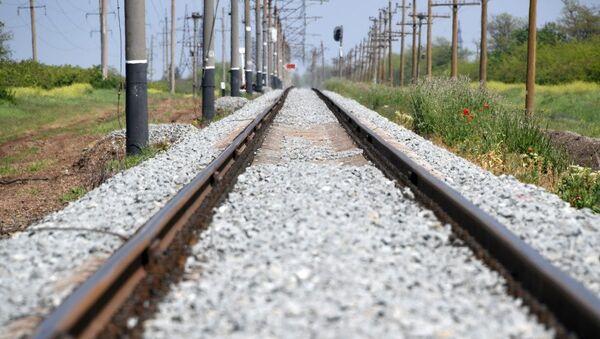 Железнодорожные пути в Крыму