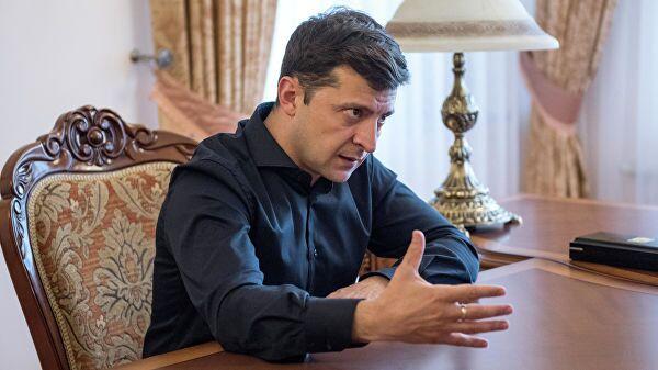 Президент Украины Владимир Зеленский. Архивное фото