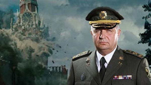 Удаленный фотоколлаж от Министра обороны Украины Степана Полторака в Facebook