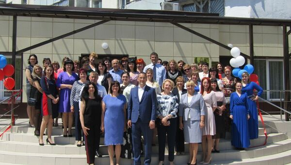 Открытие нового здания Симферопольского отдела ЗАГС департамента ЗАГС министерства юстиции Крыма