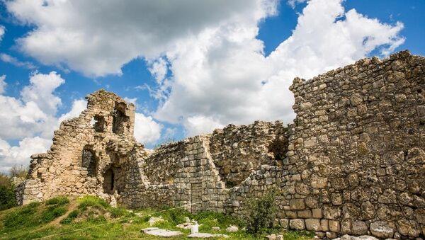 Мангупское городище в Крыму