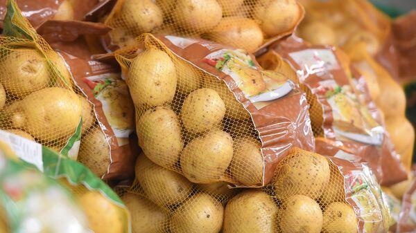 Картофель фасованный