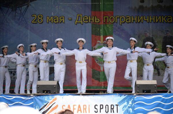 Концерт в День пограничника в Севастополе