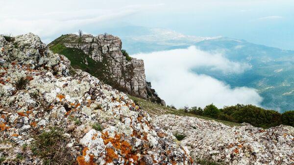 Крымские просторы с вершины горы Демерджи