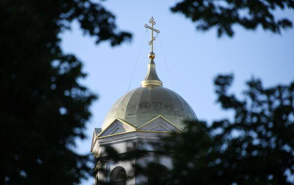 Купол Александро-Невского собора в Симферополе