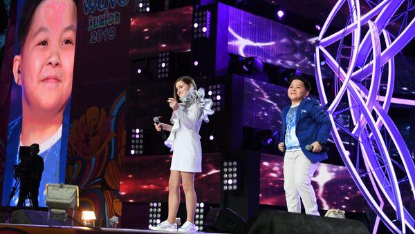 Открытие в МДЦ Артек финала международного конкурса молодых исполнителей Детская Новая волна-2019