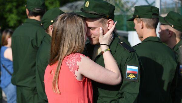 Отправка призывников из Крыма на службу в армию