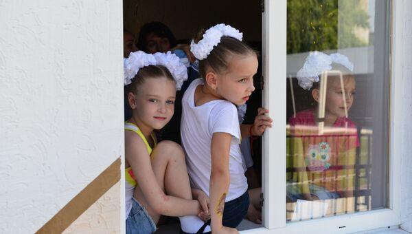 В Феодосии после капитального ремонта открылся детский оздоровительный лагерь Айвазовский ФГУП Крымская железная дорога