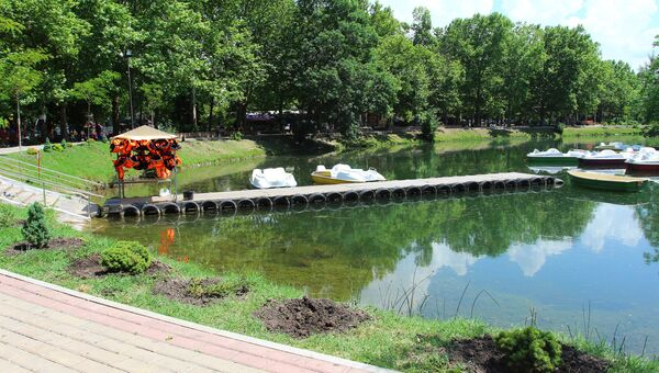 Парк имени Гагарина в Симферополе. Архивное фото