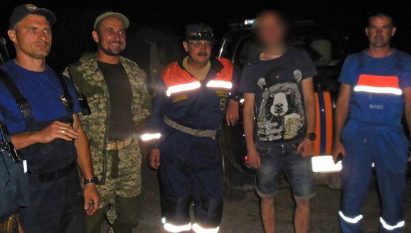 В Бахчисарайском районе спасатели оказали помощь в горах жителю Симферополя