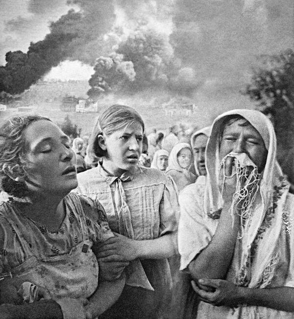 Великая Отечественная война 1941-1945 гг. 23 июня 1941 года в Киеве