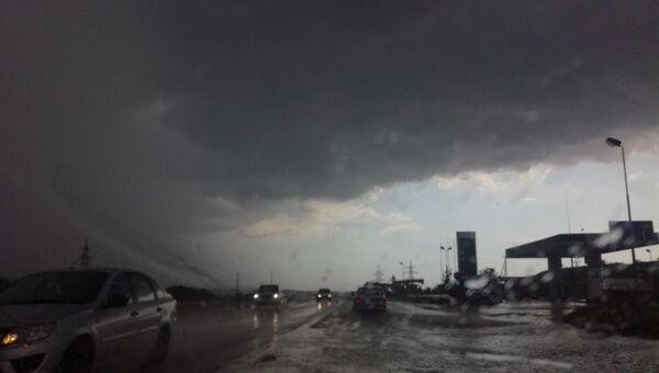 Непогода в Симферополе. 23 июня 2019