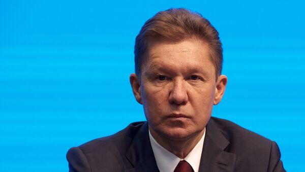 Заместитель председателя совета директоров, председатель правления ПАО Газпром Алексей Миллер