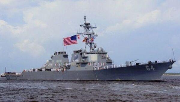 Ракетный эсминец ВМС США Carney