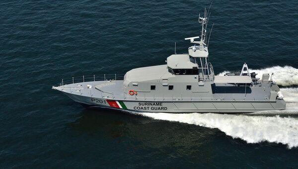 Французский патрульный катер OCEA FPB