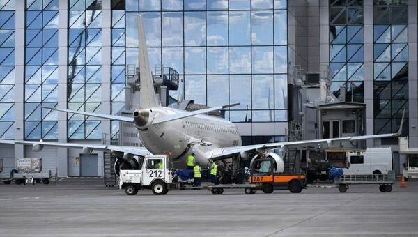 Споттинг в аэропорту Симферополь