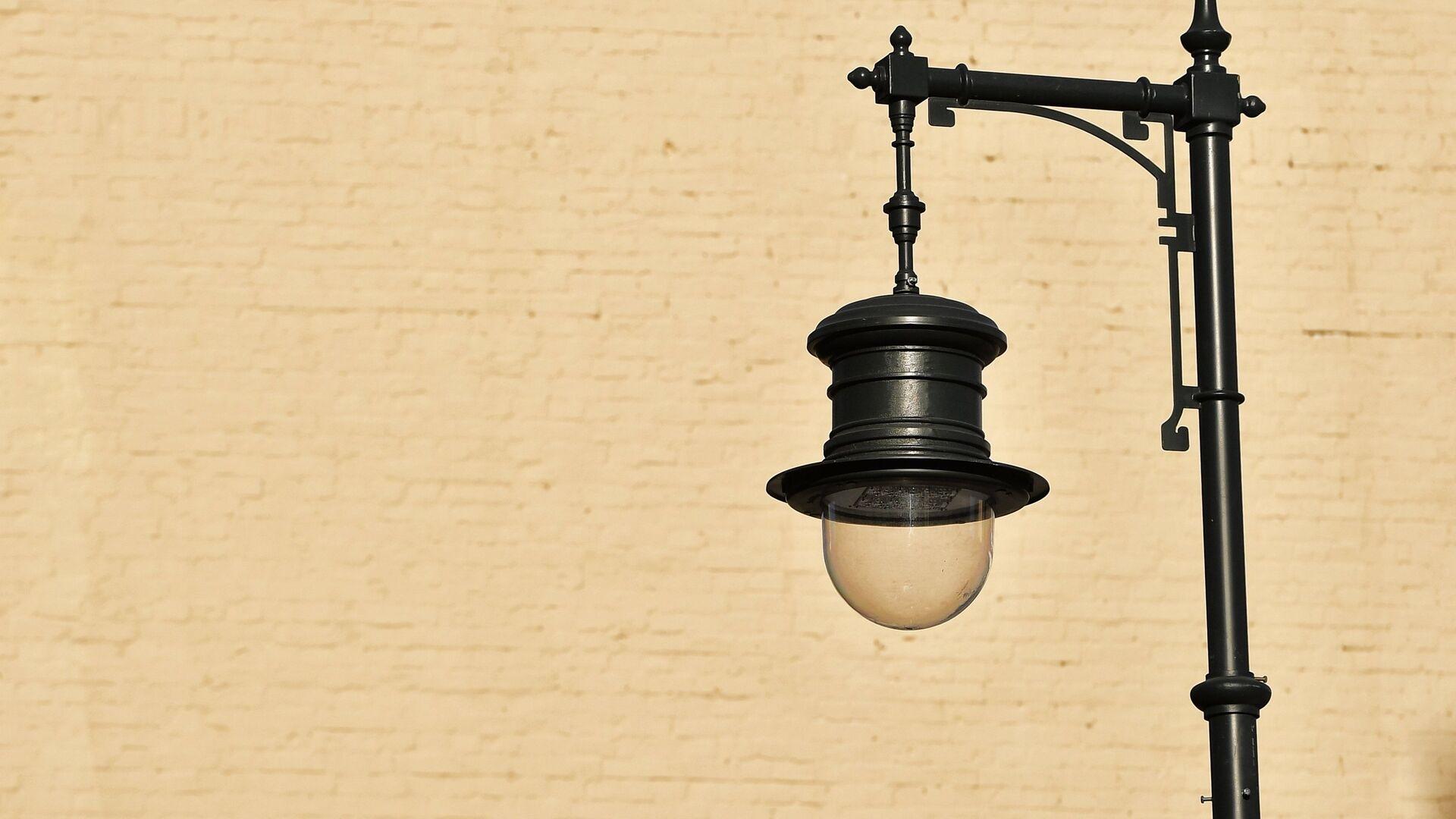 Уличный фонарь. Архивное фото - РИА Новости, 1920, 17.09.2021