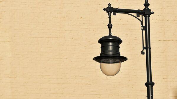 Уличный фонарь. Архивное фото