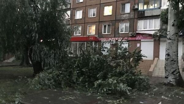Последствия урагана в Кривом Роге