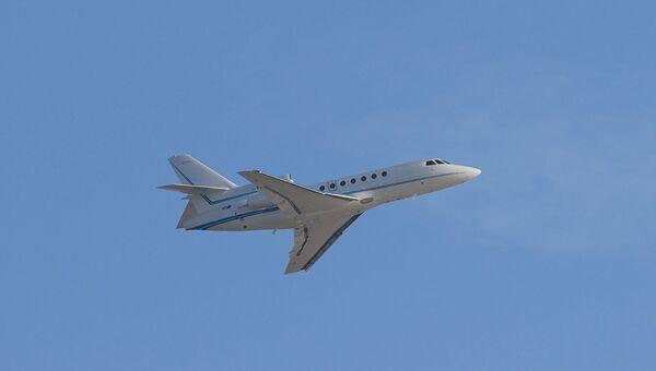 Самолет Dassault Falcon . Архивное фото