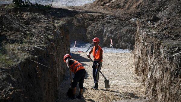 Подготовка к строительству канализационного коллектора Симферополя