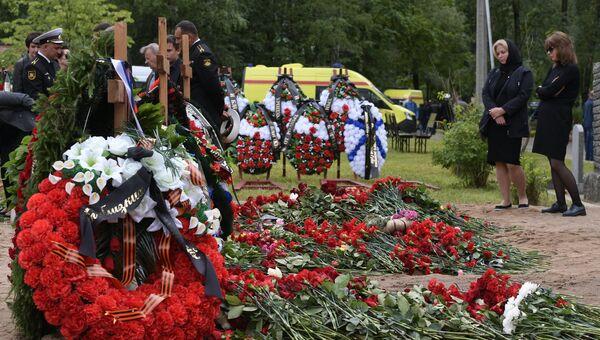 Похороны моряков-подводников в Санкт-Петербурге