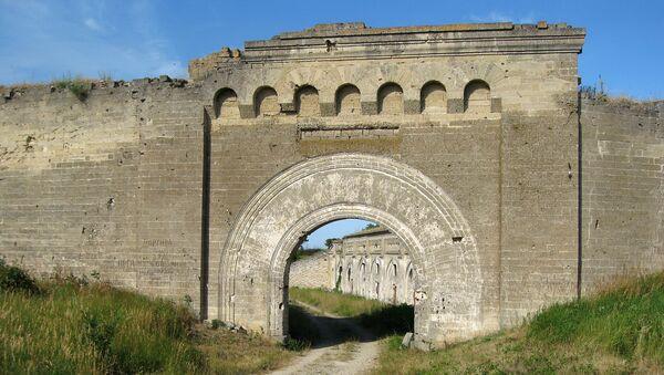 Территория крепости Керчь