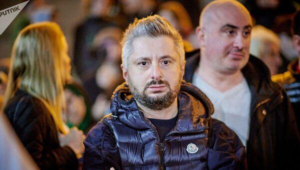 Генеральный директор грузинского телеканала Рустави 2 Николоз Гварамия