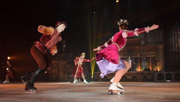 Премьера ледового спектакля Ромео и Джульетта в Ялте