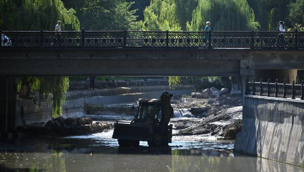 Реконструкция набережной реки Салгир в Симферополе