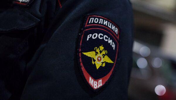 Шеврон сотрудника полиции