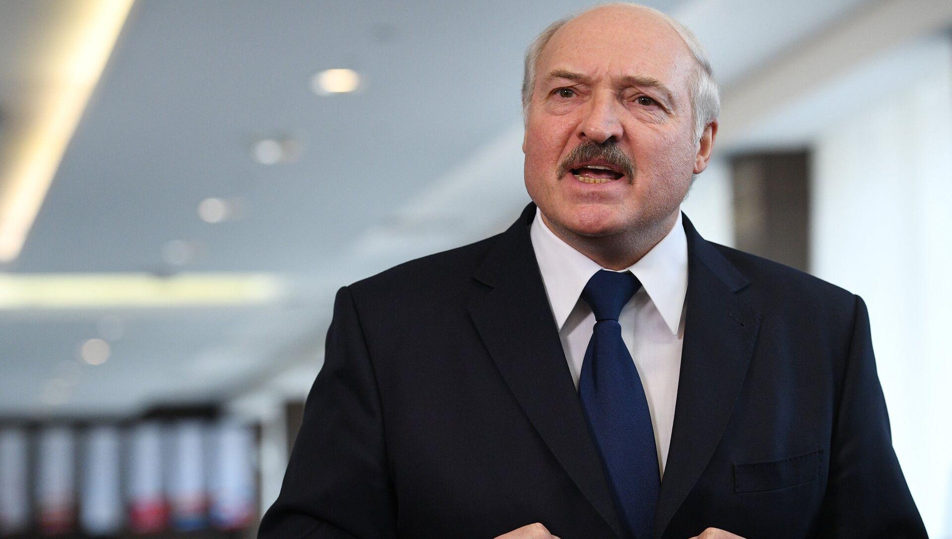 Президент Белоруссии Александр Лукашенко - РИА Новости, 1920, 09.10.2020