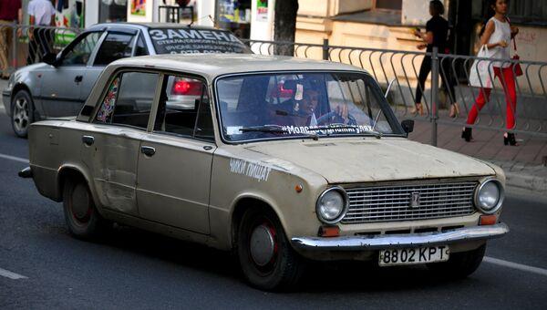 Автомобили ХХ века на дорогах Крыма