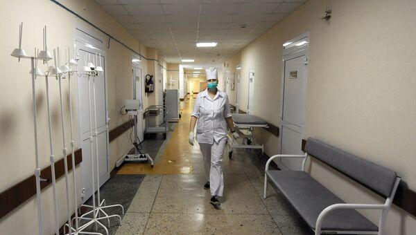 Медицинская сестра в больнице