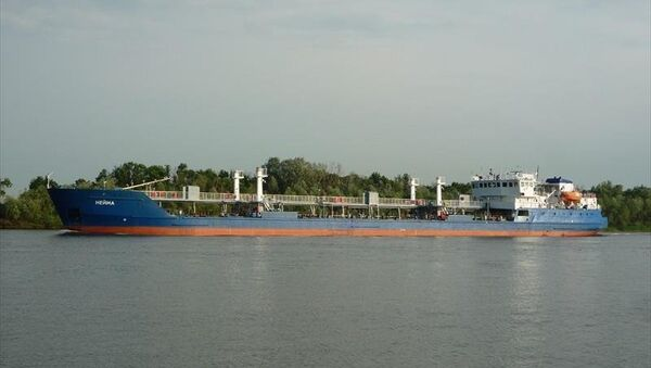 Российский танкер NEYMA. Архивное фото